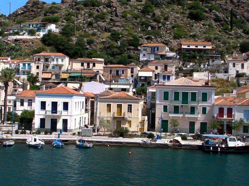 poros island houses