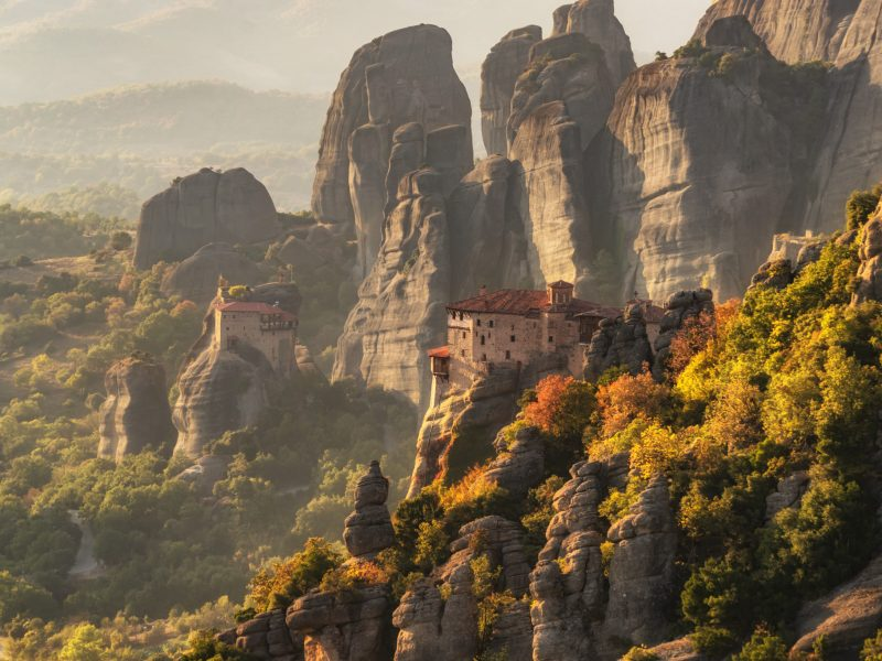 private tour of Meteora