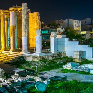 Discover Classical Athens_history by night