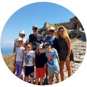 About Ancient Greece Tours_Happy customers Acrocorinth