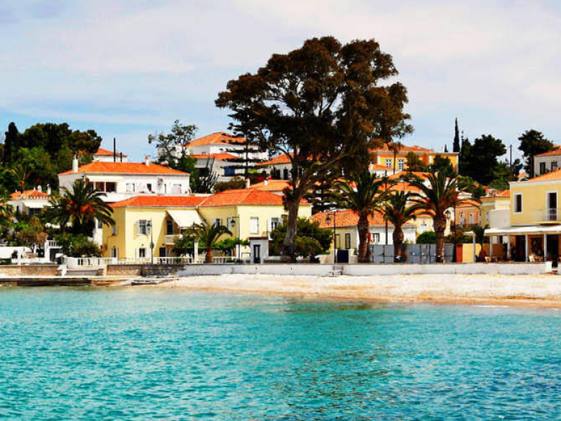 private luxury excursion of Spetses