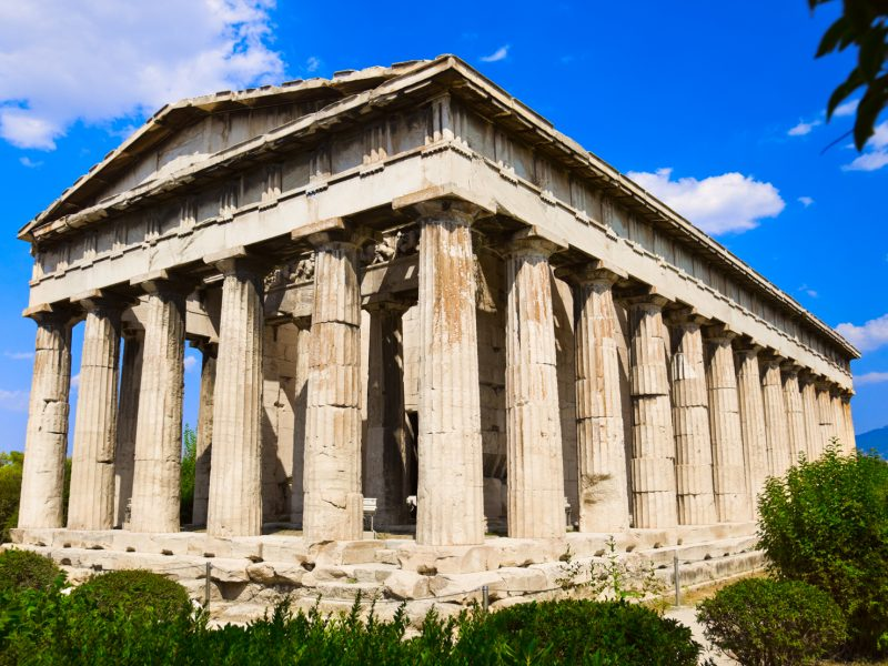 private tour of Athens and Sounion