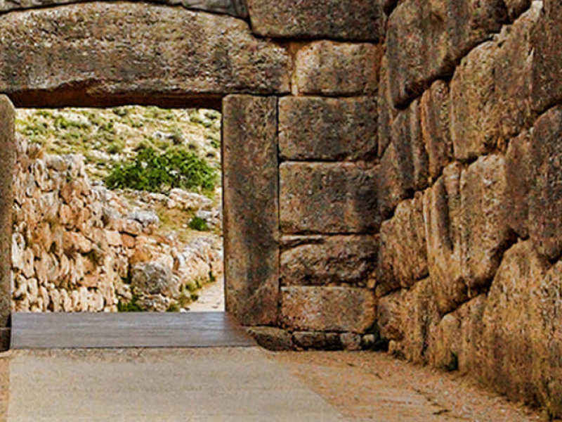 private tour of Mycenae