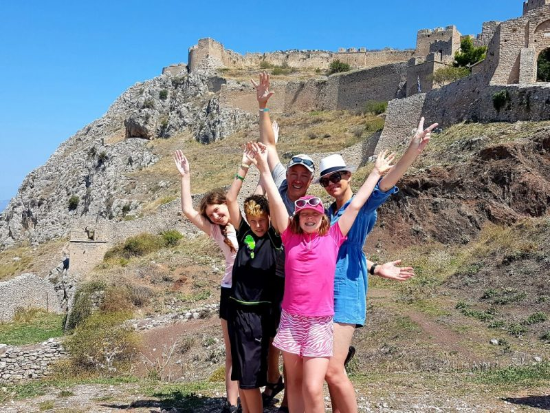 Thank you for your booking_Happy customers in Acrocorinth