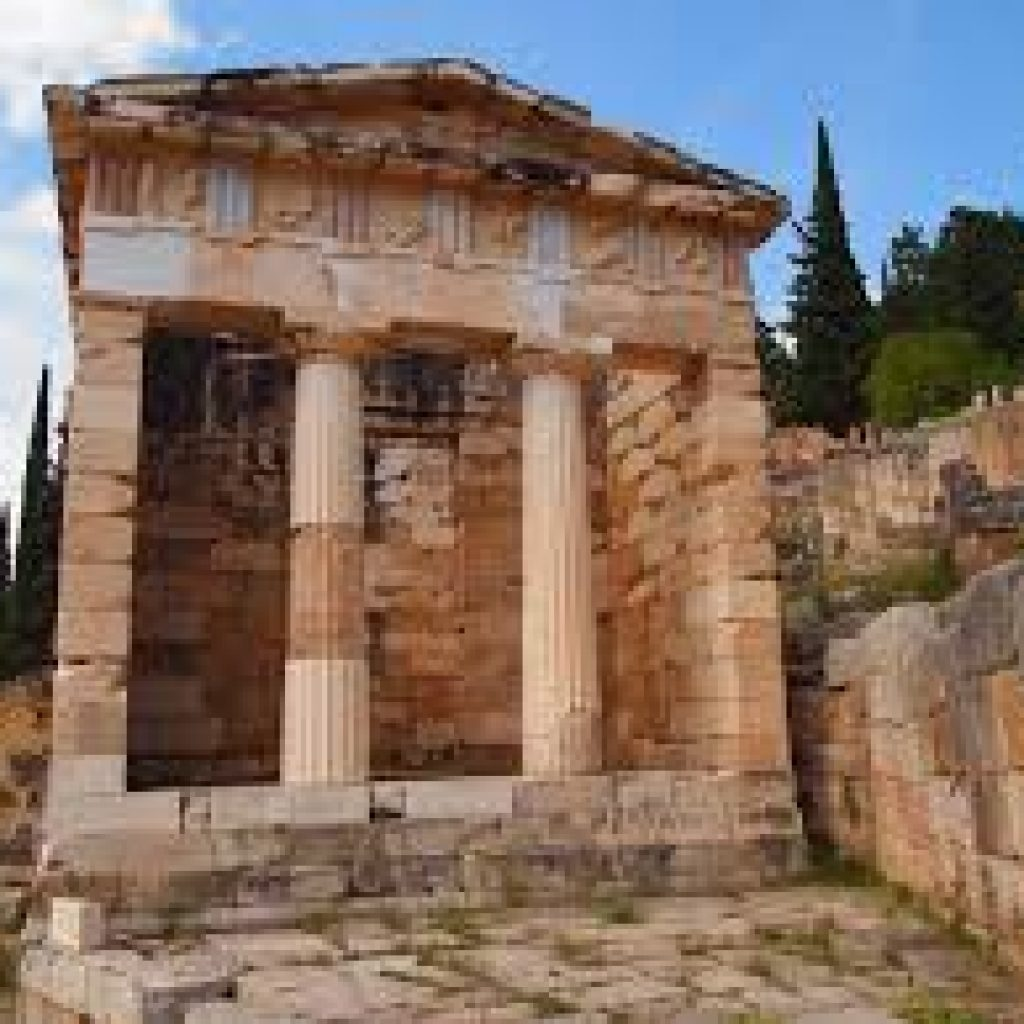 Athenian Treasury_Delphi