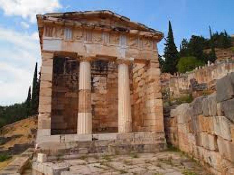 Athenian Treasury_Delphi