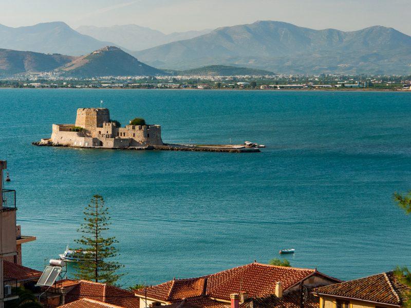 Discover Mythical Peloponnese_Bourtzi_ Nafplio