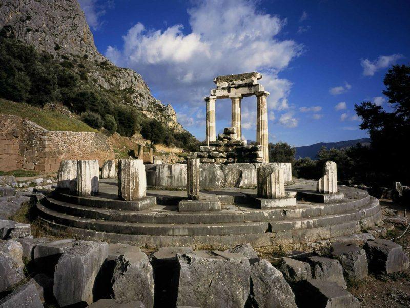 Temple of Apollo_Delphi