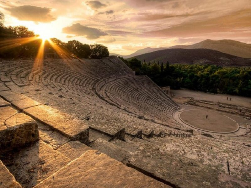 Discover Mythical Peloponnese_Epidaurus theatre
