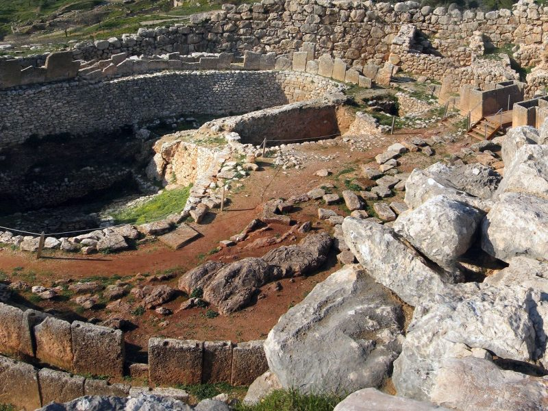 Discover Mythical Peloponnese_Grave-Circle-A-Mycenae
