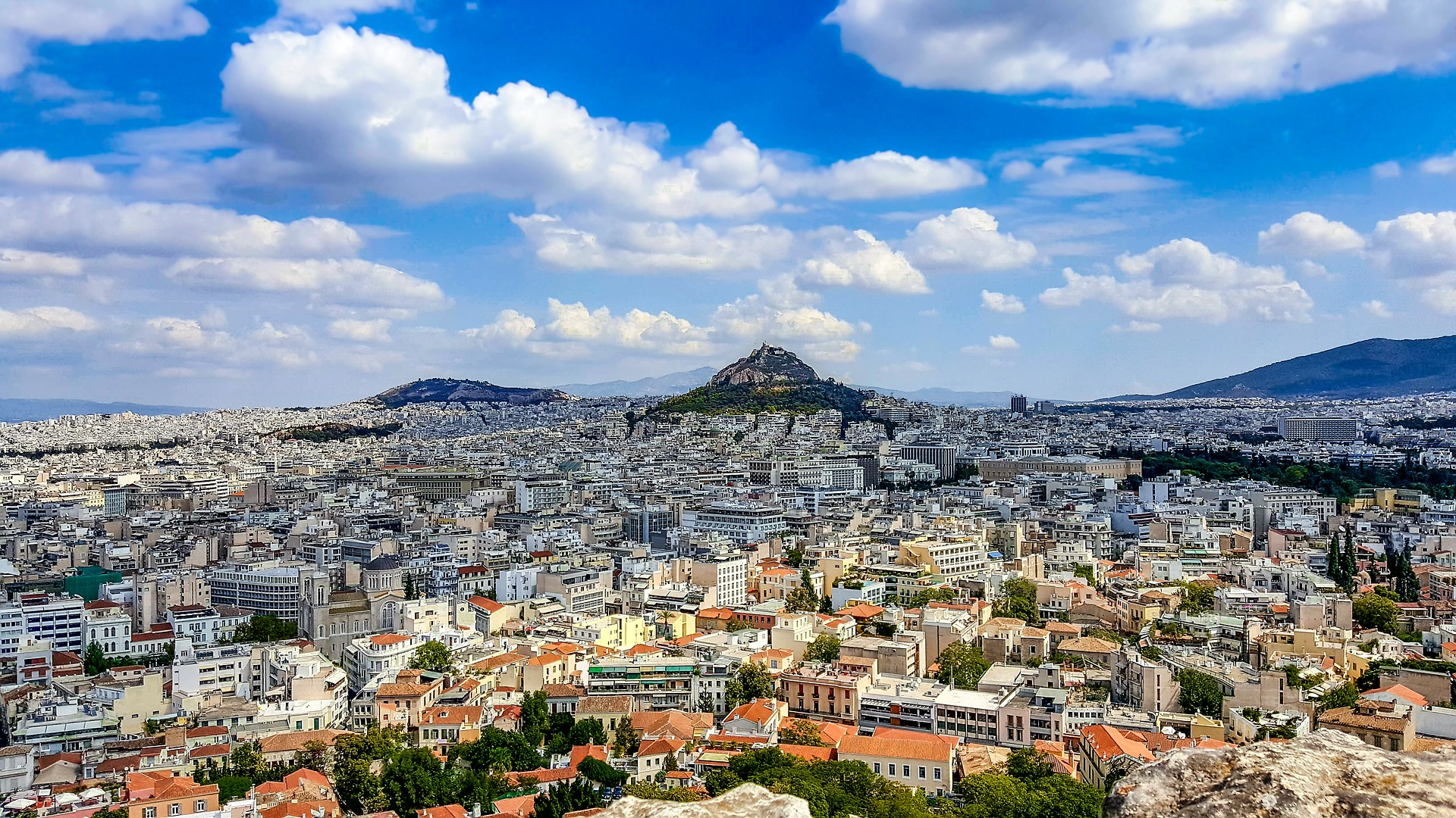 Lycabettus Hill_classical_Athens