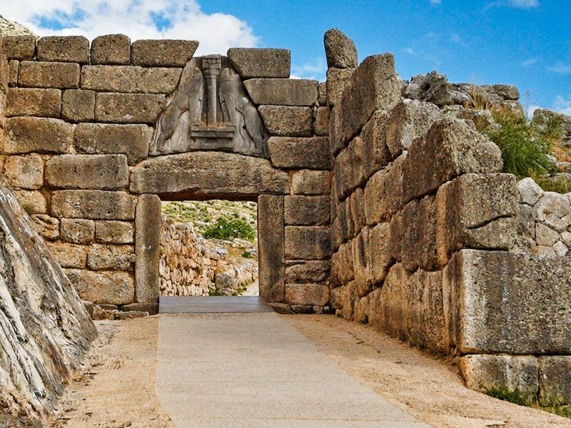Discover Mythical Peloponnese_Mycenae The Linos Gate