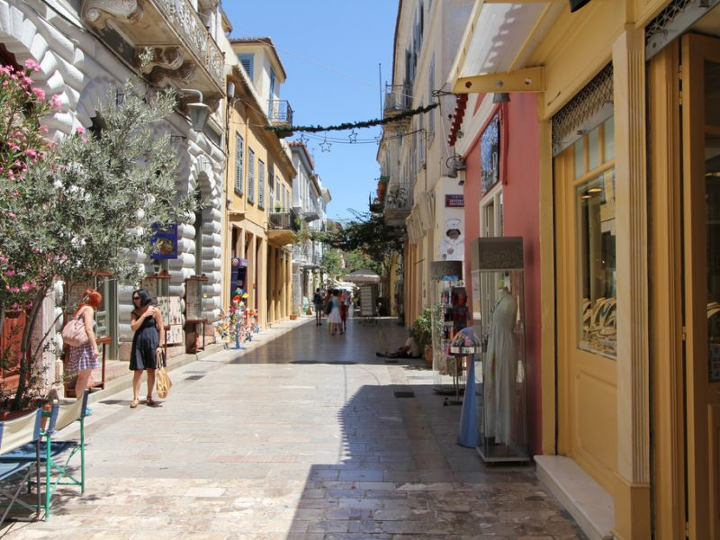 Discover Mythical Peloponnese_Nafplio_alleys