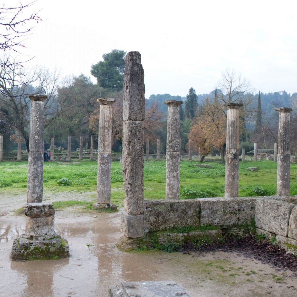 Discover Mythical Peloponnese_Olympia_Palaestra