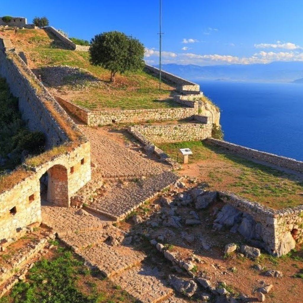 The medieval side of Peloponnese_Palamidi_Nafplio