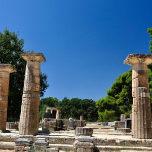 Discover Mythical Peloponnese_Temple-of-Hera-Olympia