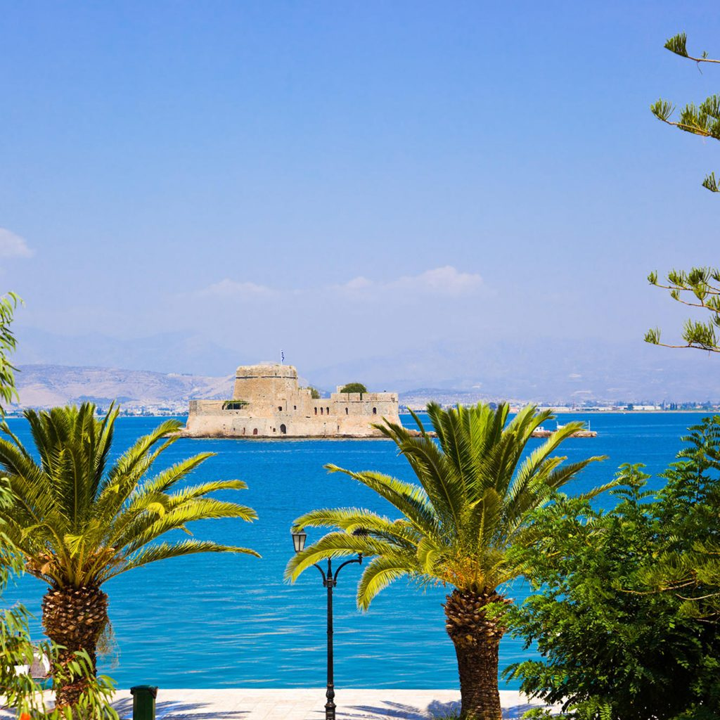 Discover_Peloponnese_medieval_side_View_Bourtzi_Nafplio