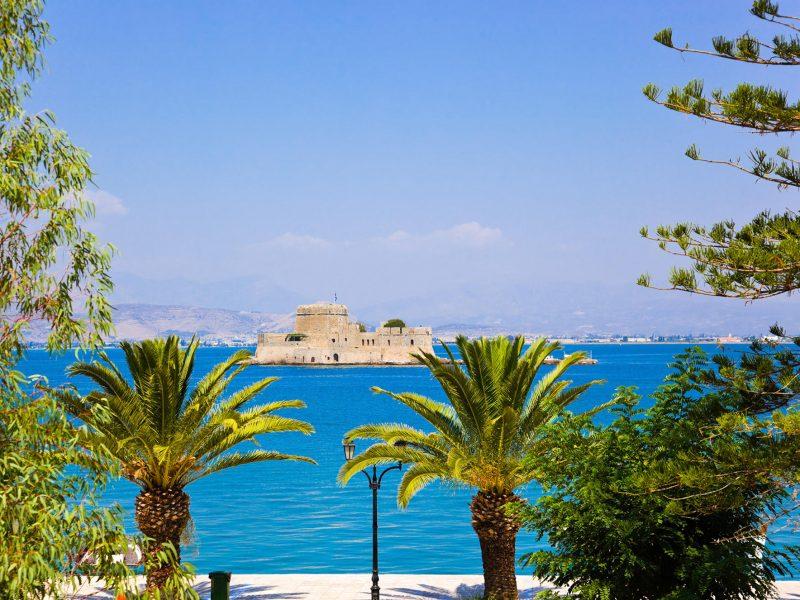 Discover_Peloponnese_medieval_side_View_Bourtzi_Nafplio
