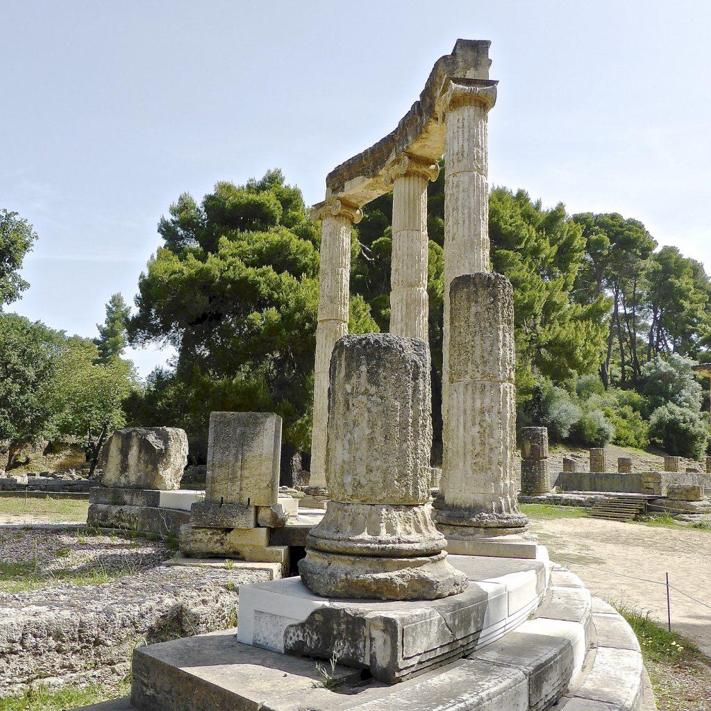 Sanctuary of Athena Pronaia_Delphi