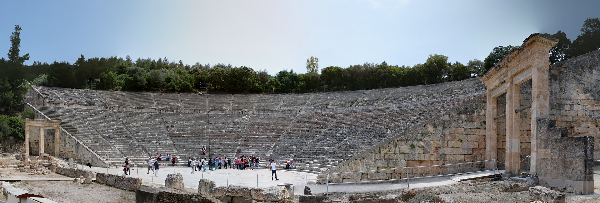 Discover Mythical Peloponnese_epidaurus theater