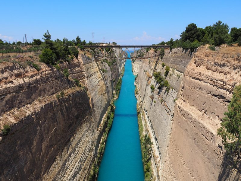 Discover Mythical Peloponnese_Isthmus Canal_Peloponnese