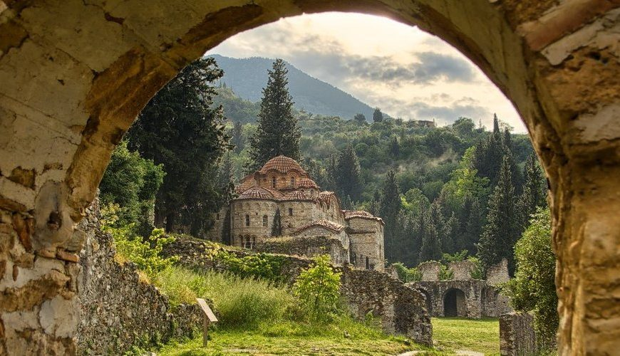 Discover Peloponnese medieval side_Mystras