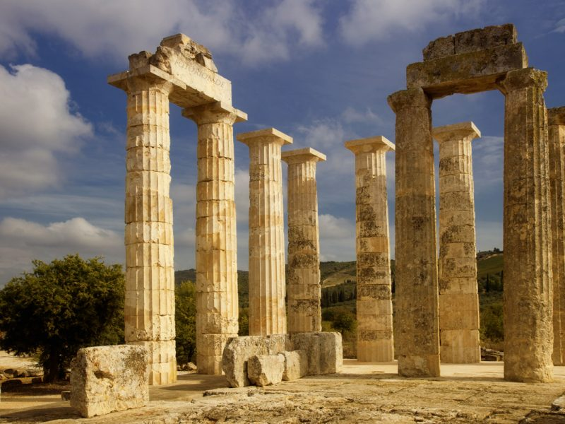 Discover Mythical Peloponnese_Nemea_Temple of Zeus