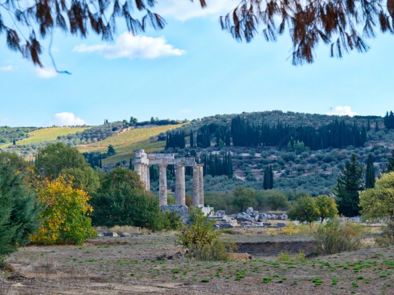 Discover Mythical Peloponnese_Temple of Zeus Ancient Nemea