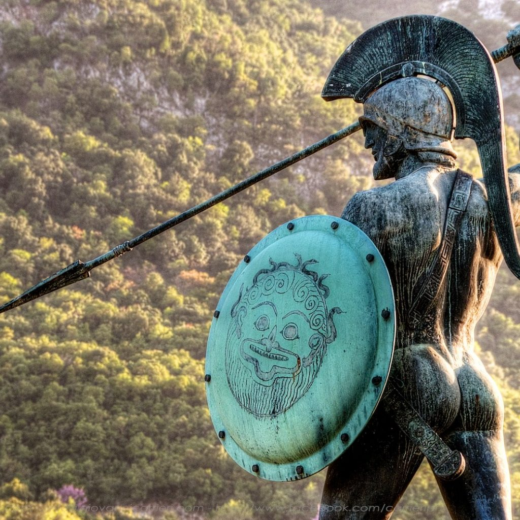 king leonidas statue_Thermopylae