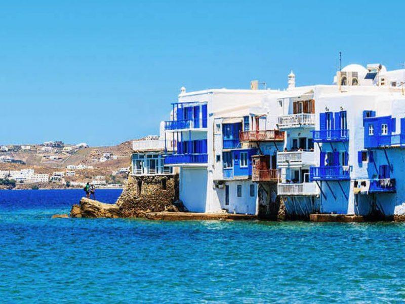 tour of Mykonos island