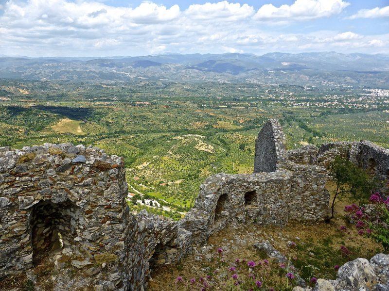 tour of Sparta, Mystras & Monemvasia