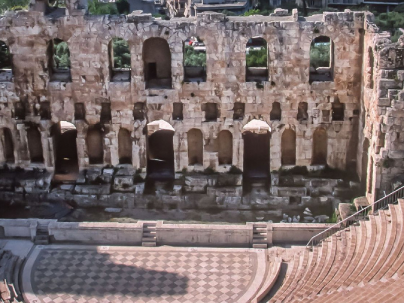 Multi day tours-Odeon Herodes Atticus at Athens